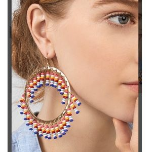 "BaubleBar ""Mazarine"" hoop earrings"